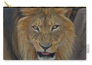 The Lion Dry Brushed Carry-all Pouch