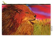 The Lion King Of Massai Mara Carry-all Pouch
