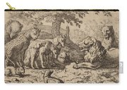 The Lion Seeks Advice Carry-all Pouch