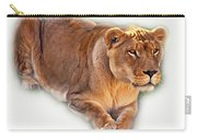 The Lioness - Vignette Carry-all Pouch