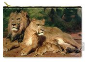 The Lions At Home Carry-all Pouch