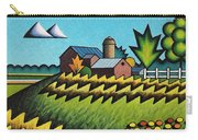 The Little Farm On The Grassy Hill Carry-all Pouch