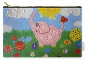 Little Pink Elephant Carry-all Pouch