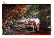 The Little Pink Unicorn By Pedro Cardona Carry-all Pouch