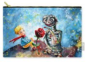 The Little Prince And E.t. Carry-all Pouch