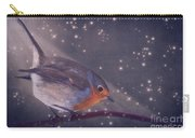 The Little Robin At The Night Carry-all Pouch