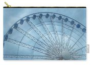 The Liverpool Wheel In Blues 2 Carry-all Pouch