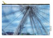 The Liverpool Wheel In Blues 3 Carry-all Pouch