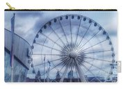 The Liverpool Wheel In Blues Carry-all Pouch