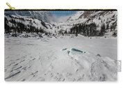 The Loch Under Snow Carry-all Pouch