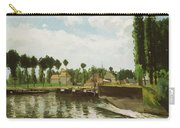 The Lock At Pontoise Carry-all Pouch
