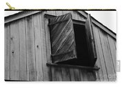 The Loft Door In Black And White Carry-all Pouch
