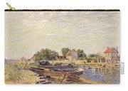 The Loing At Saint Mammes 1885 Carry-all Pouch