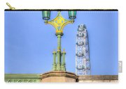 The London Eye And Westminster Bridge Carry-all Pouch