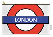 The London Underground Carry-all Pouch