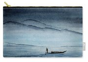 The Lonely Boat Man Carry-all Pouch