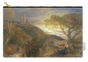 The Lonely Tower Carry-all Pouch by Samuel Palmer