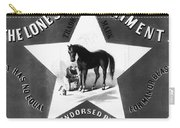 The Lonestar Liniment Carry-all Pouch