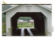 The Longley Covered Bridge Carry-all Pouch