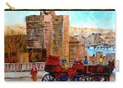 The Lookout On Mount Royal Montreal Carry-all Pouch