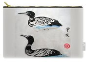The Loons Carry-all Pouch
