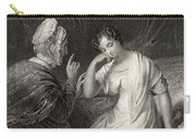 The Love Letter Engraved By Charles Carry-all Pouch