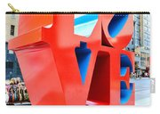 The Love Sculpture Carry-all Pouch by Paul Ward