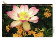 The Lovely Lotus Carry-all Pouch