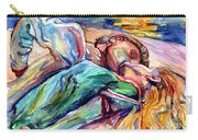 The Lovers Watercolor Carry-all Pouch