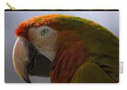 The Macaw Portrait Carry-all Pouch