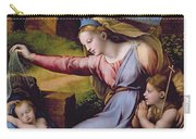 The Madonna Of The Veil Carry-all Pouch