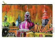 The Magical Rooftops Of Prague 01 Carry-all Pouch by Miki De Goodaboom