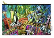 The Magical Rooftops Of Prague 02 Carry-all Pouch by Miki De Goodaboom