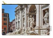 The Majesty Of The Trevi Fountain In Rome Carry-all Pouch