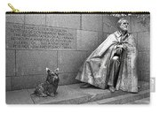 The Man And His Dog Carry-all Pouch