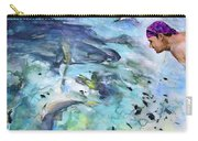 The Man And The Sharks Carry-all Pouch
