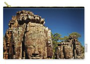 The Many Faces Of Bayon Temple, Angkor Thom, Angkor Wat Temple Complex, Cambodia Carry-all Pouch
