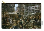 The Market Of Verona Carry-all Pouch