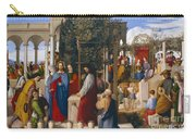 The Marriage At Cana Carry-all Pouch by Julius Schnorr von Carolsfeld