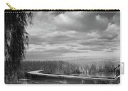 The Marsh-in Black And White Carry-all Pouch