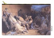 The Martyrdom Of The Holy Innocents 1868 Carry-all Pouch