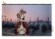 The Masks Of Venice Carnival Carry-all Pouch