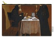 The Meal Of Saint Benedict Of Nurcia Carry-all Pouch