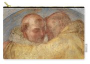 The Meeting Of St Francis And St Dominic  Carry-all Pouch