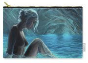 The Mermaid Of The Blue Cave Carry-all Pouch