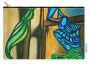 The Mermaid On The Window Sill Carry-all Pouch