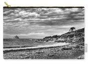 The Mewstone, Wembury Bay, Devon #view Carry-all Pouch