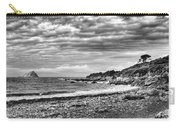 The Mewstone, Wembury Bay, Devon #view Carry-all Pouch