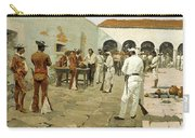The Mier Expedition-the Drawing Of The Black Bean Carry-all Pouch