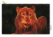 The Mighty Lion Carry-all Pouch